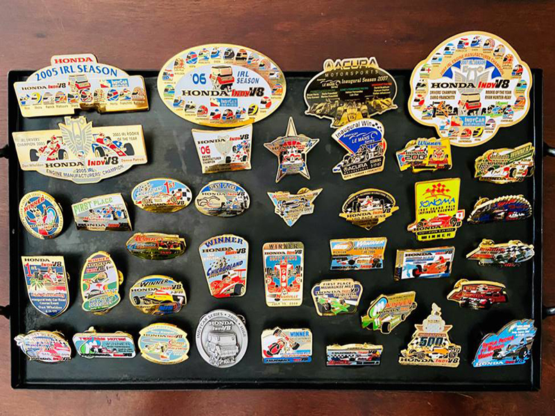 Emblematic Jewelry – Collectible Indy Racing League Pin Program